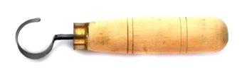 Cuțit pentru cioplit linguri din lemn