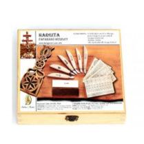 Set cutite de cioplit Hargita in cutie lemn