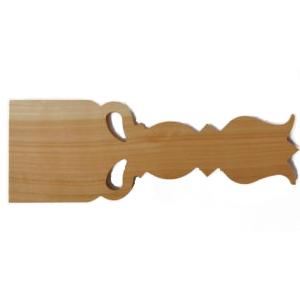 Răzuielniţă din lemn cireş goală